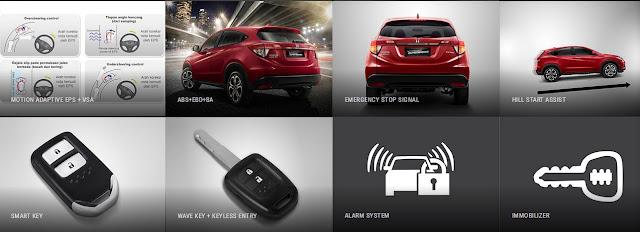 Fitur Honda New HR-V 2020