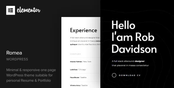 Best Personal Portfolio WordPress Theme