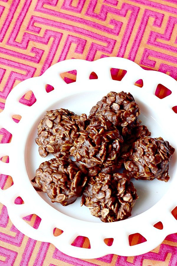 cookie recipe, chocolate, no bakes, recipe