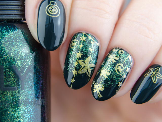 Orly Secondhand Jade winter nails