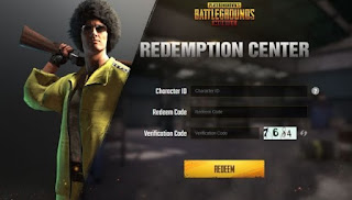 PUBG Mobile code for today Free SCAR-L skin