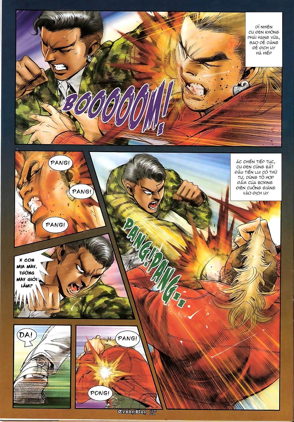 Người Trong Giang Hồ - Chapter 1267: Quá Giang Hổ vs Phi Châu Hổ - Pic 24