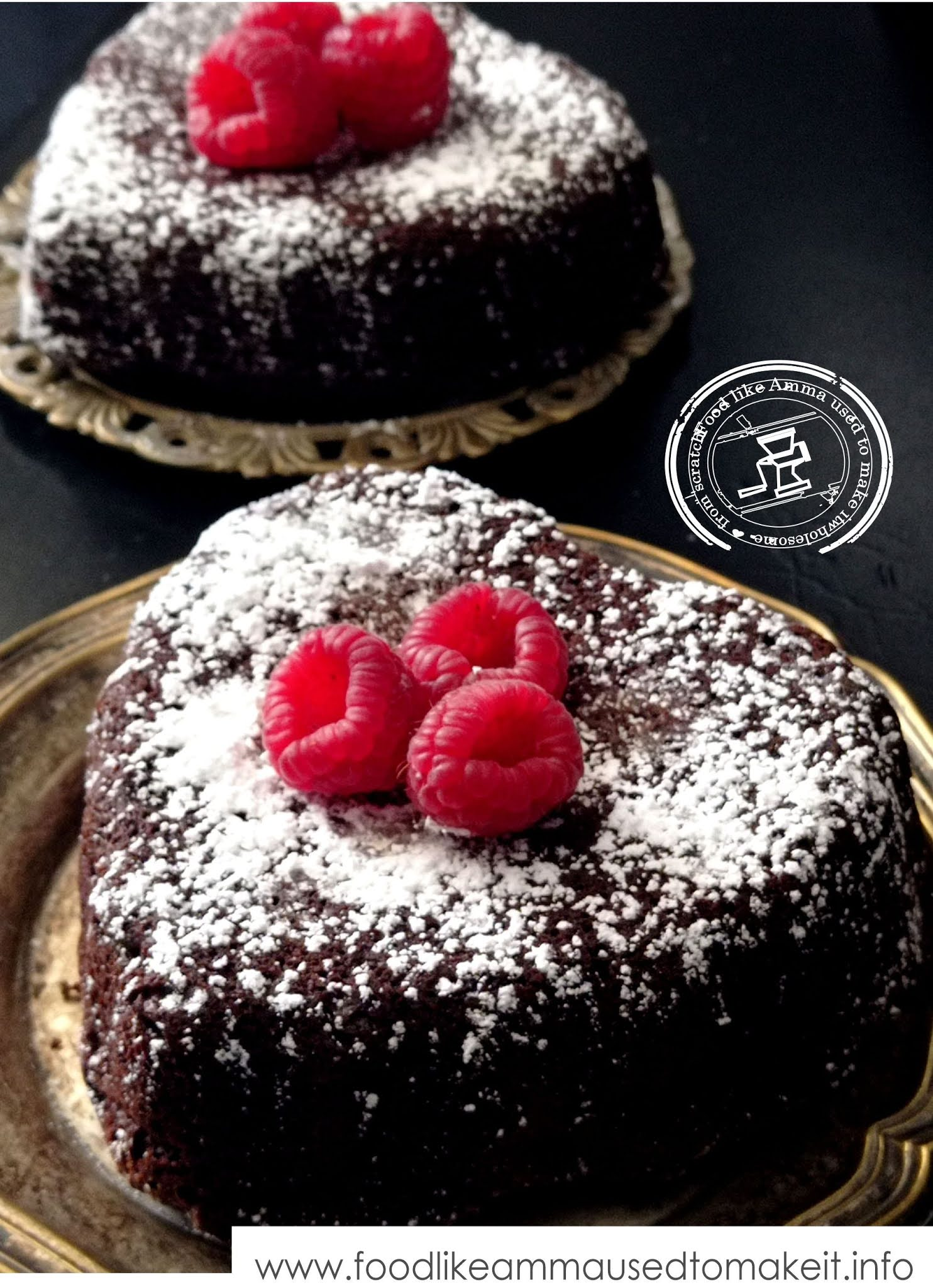 warm chocolate cake recipe