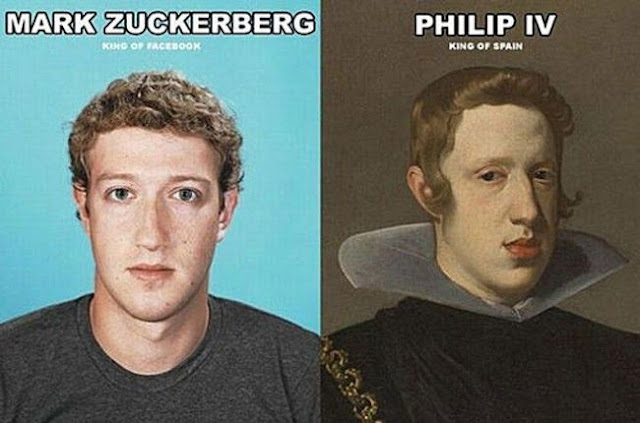 Mark Zuckerberg and Philip IV