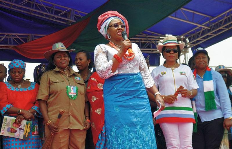 I can say anything I want, Aisha Buhari blasts APC chieftains