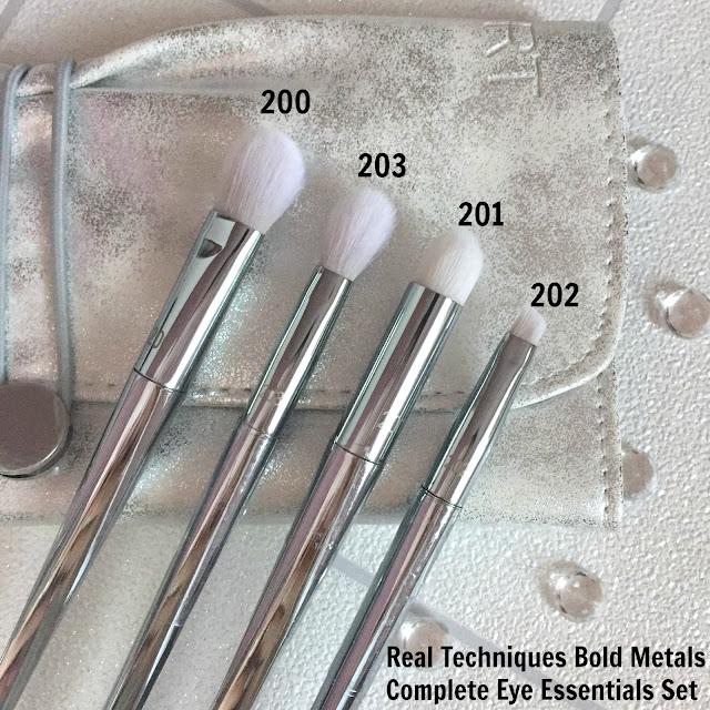 Real Techniques Bold Metals Complete Eye Essentials Set
