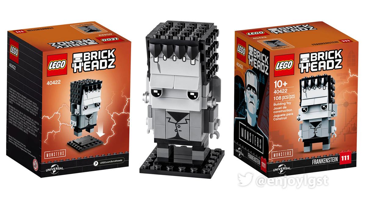 40422 フランケンシュタイン:レゴ #LEGO ブリックヘッズ
