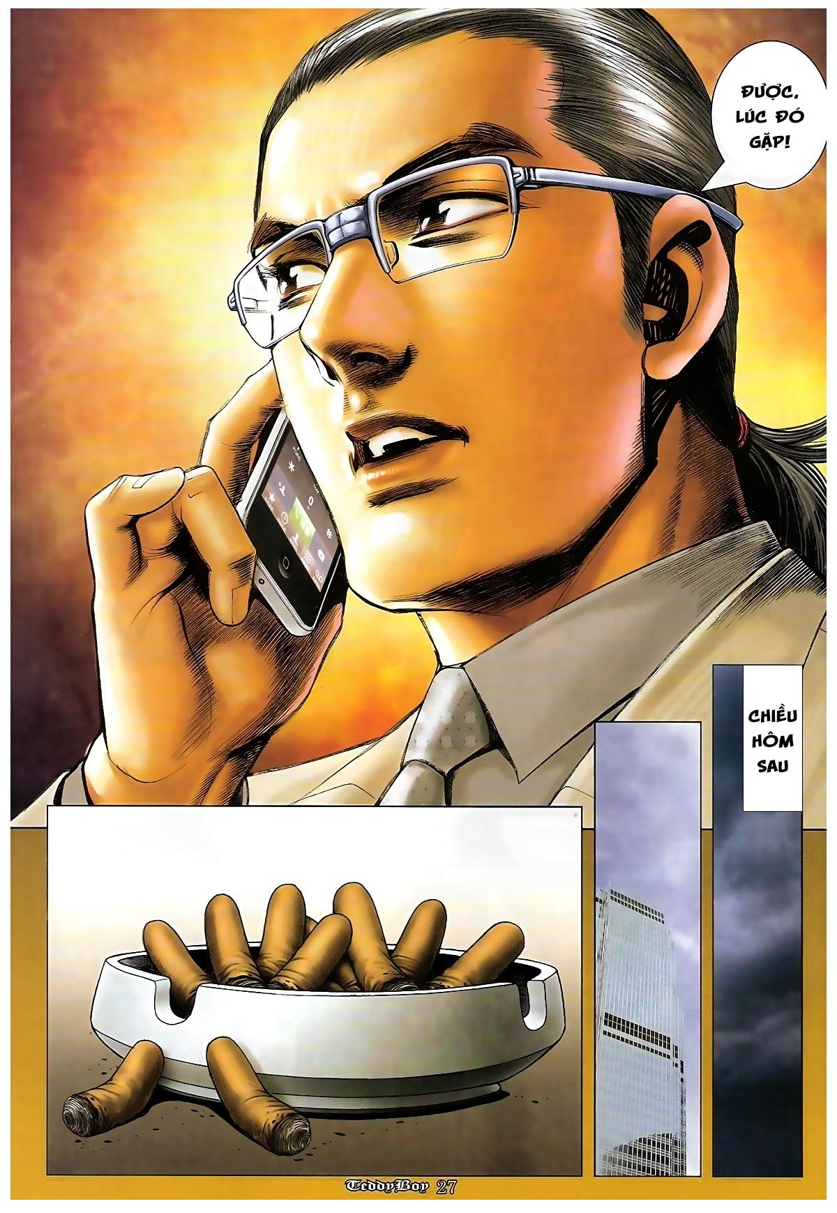 Người Trong Giang Hồ - Chapter 1265: Bát vàng rửa tay - Pic 24