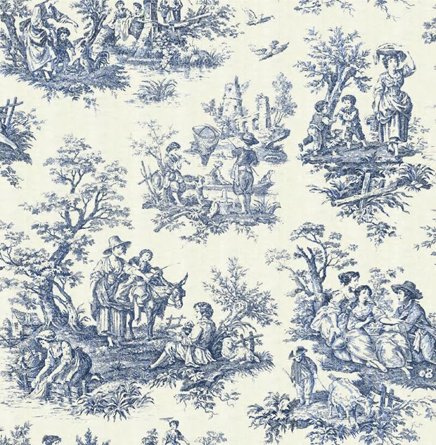 Toile Is A Fabric That Garners Either Love Or Loathing The Traditional Lication To Put On Everything In Sight Which Can Be Perceived As Fun