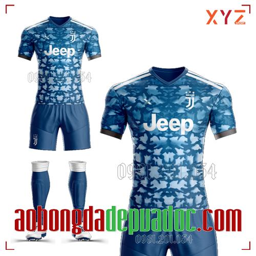 Áo Juventus 2020 Sân Khách Màu Xanh Đẹp Và Độc