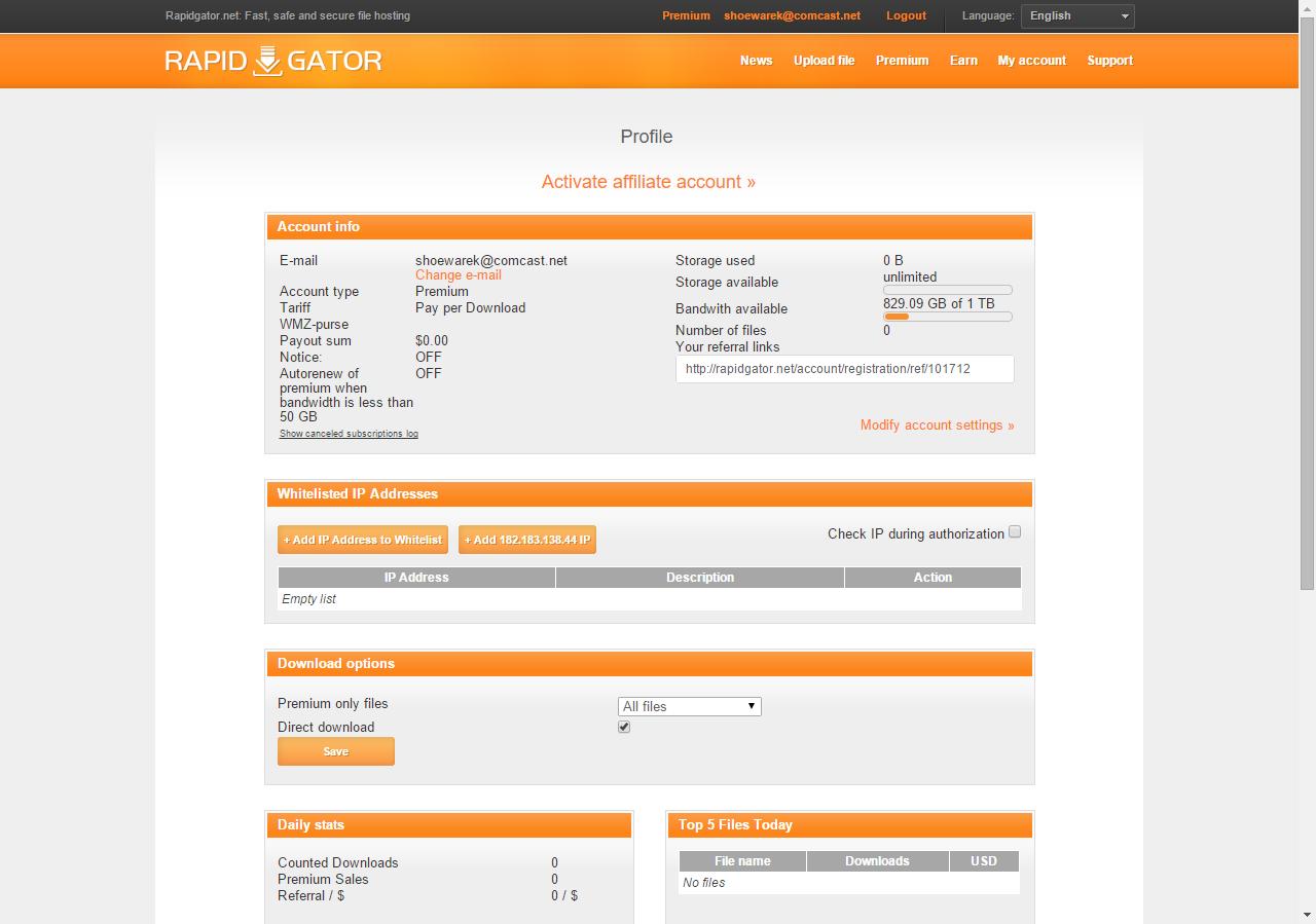 Rapidgator login premium / Peoples bank al