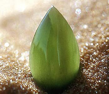 Jade is the stone of which is associated with the heart chakra and amplifies emotions.