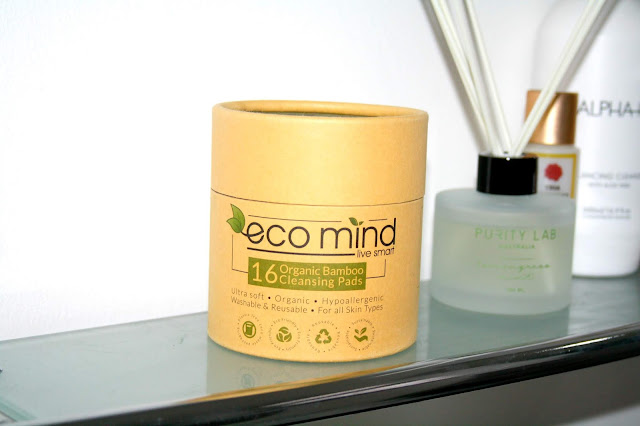 Eco Mind Organic Bamboo Cleansing Pads