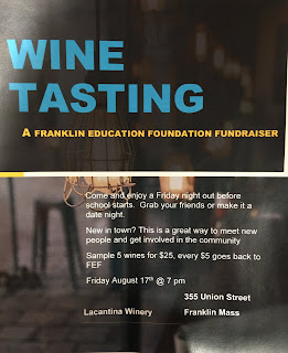 FEF Wine Tasting - La Cantina Winery - Friday Aug 17
