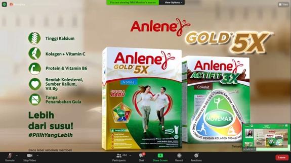 Anlene Actifit 3X dan Anlene Gold 5X.