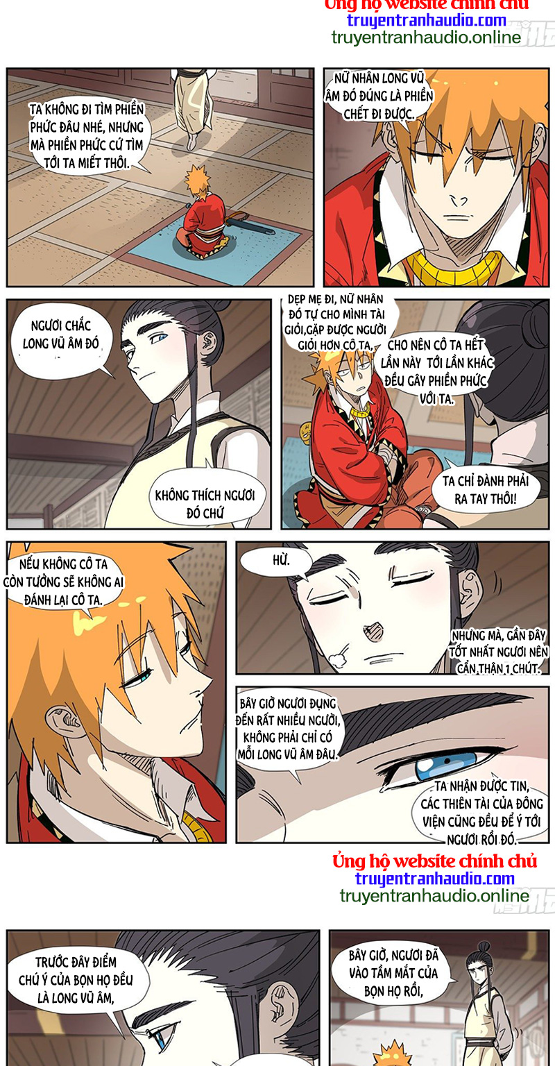 Yêu Thần Ký Chương 324 - Truyentranhaudio.online