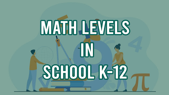 Math Levels in School k-12 grade
