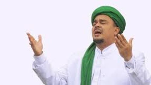 Doa Habib Rizieq untuk Munarman