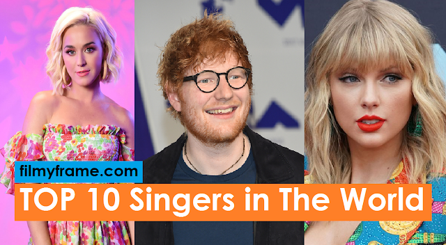 Top 10 Popular Singer in the world, Best Singers