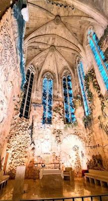 Mural de cerámica de Miquel Barceló de la catedral de Palma