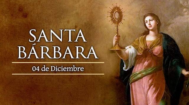 Resultado de imagen para día de santa barbara blogspot