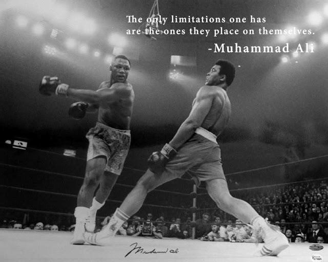 Muhammad Ali lesson on impossible