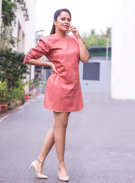 Actress Anasuya Bharadwaj Latest Hot Photos At Star Maa Sixth Sense 4 Show Actress Trend