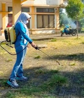 Camat Ma'rang , Kebersihan adalah Sebahagian dari Iman,Ini yang Dilakukan