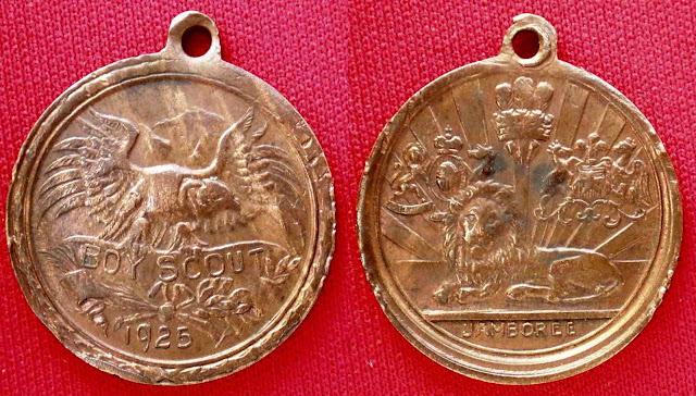 Medalla Jamboree 1925 Eduardo VIII
