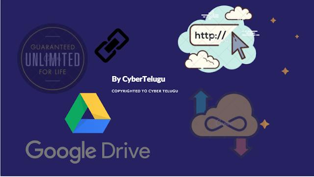 Unlimited Google Drive Method