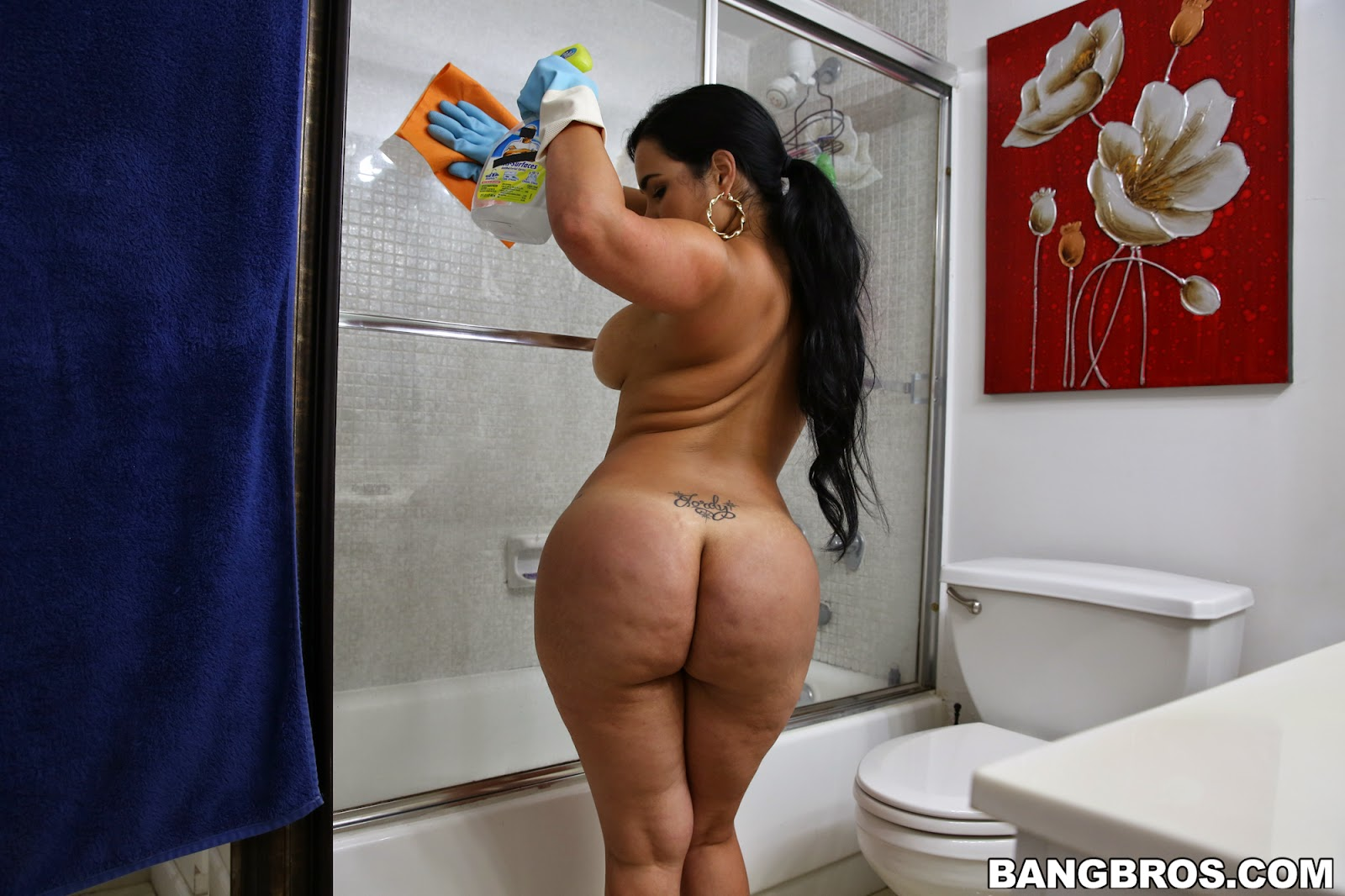 Cuban babe angelina castro fucks her teddy bear in 2012 vid - 2 part 5