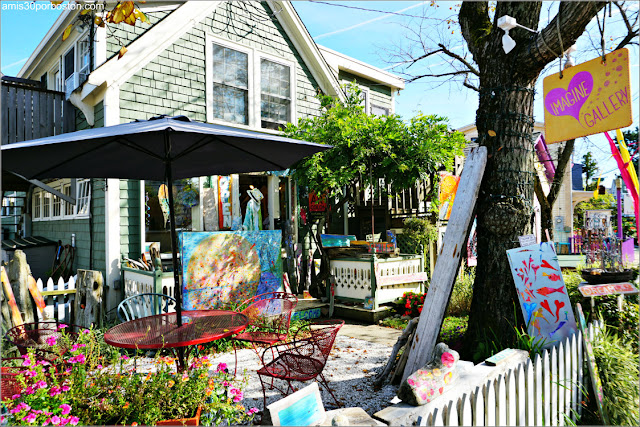 Galería de Arte en Rocky Neck Art Colony, Gloucester
