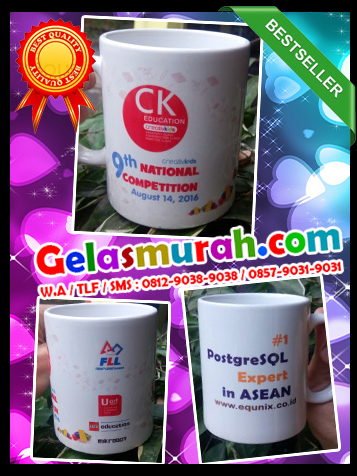 Pesan Souvenir Gelas Online di Palimanan, Kabupaten Cirebon