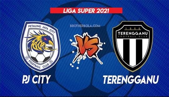 Live Streaming PJ City vs Terengganu 4.8.2021