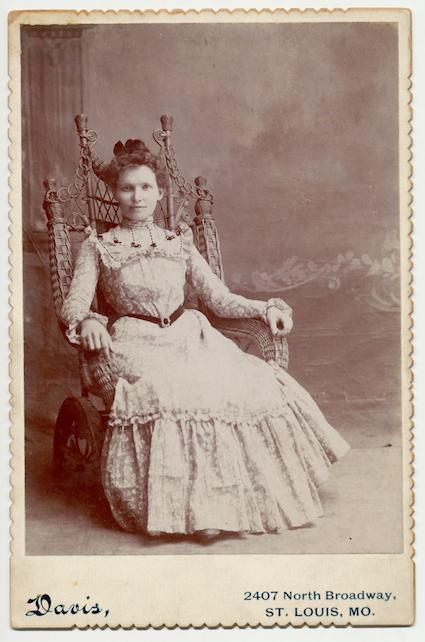 Bertha Nelke, c. 1905