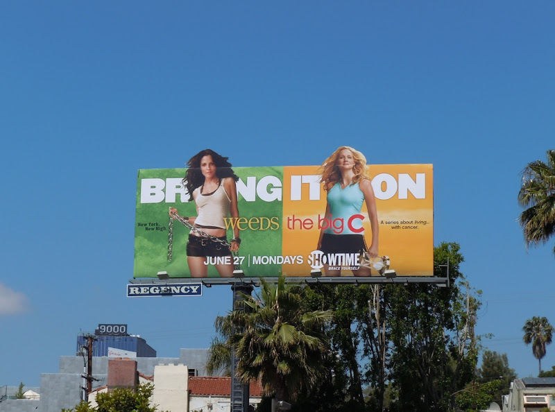 Weeds The Big C Bring It On billboard