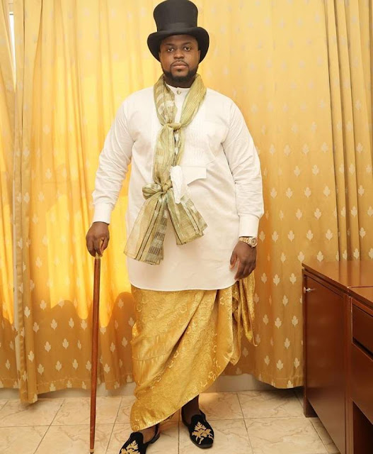 Check out the Efik Traditional Wedding Attire from Davido's Brother Wedding
