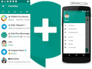 Plus Messenger (Telegram Plus) Apk v7.1.3.0 [Mod Lite]