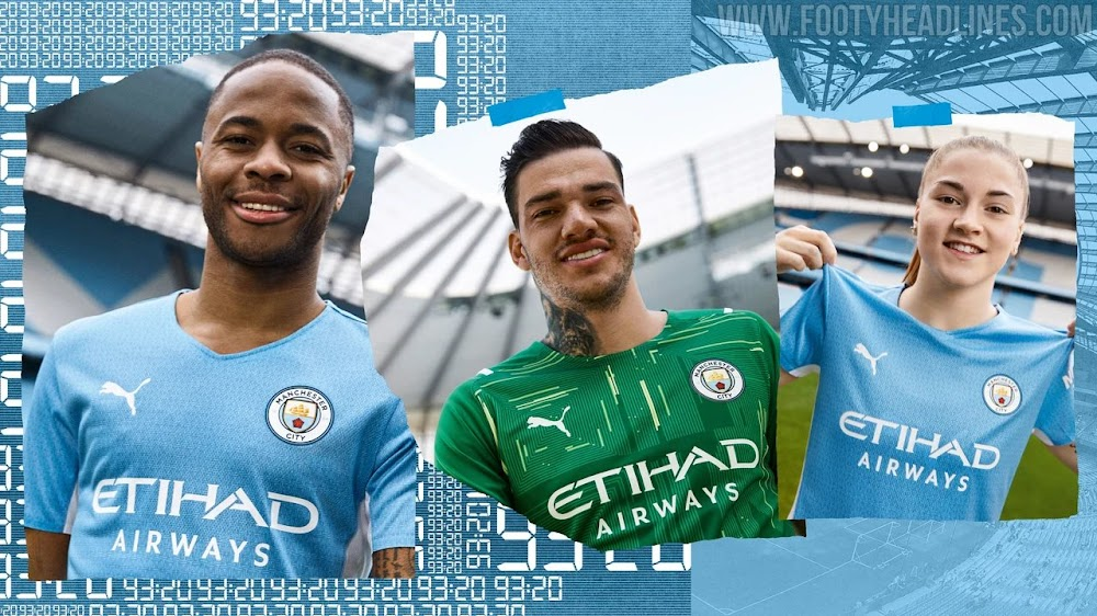 Download New Manchester City Jersey 21 22 Png Samyang