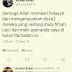 Bela Bapa Sendiri Di Twitter, Seru Hentikan Cacian, Anak Azeez Rahim Diserang Kaw-Kaw..