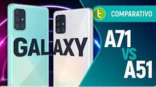 GALAXY A51 VS A71:SPECS