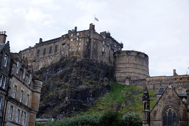 Hello Freckles Edinburgh Castle Old Town