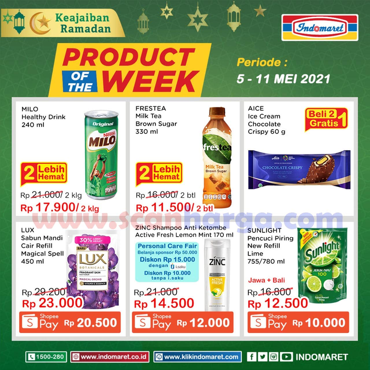 Katalog Indomaret Product Of The Week Promo PTW 5 - 11 Mei 2021