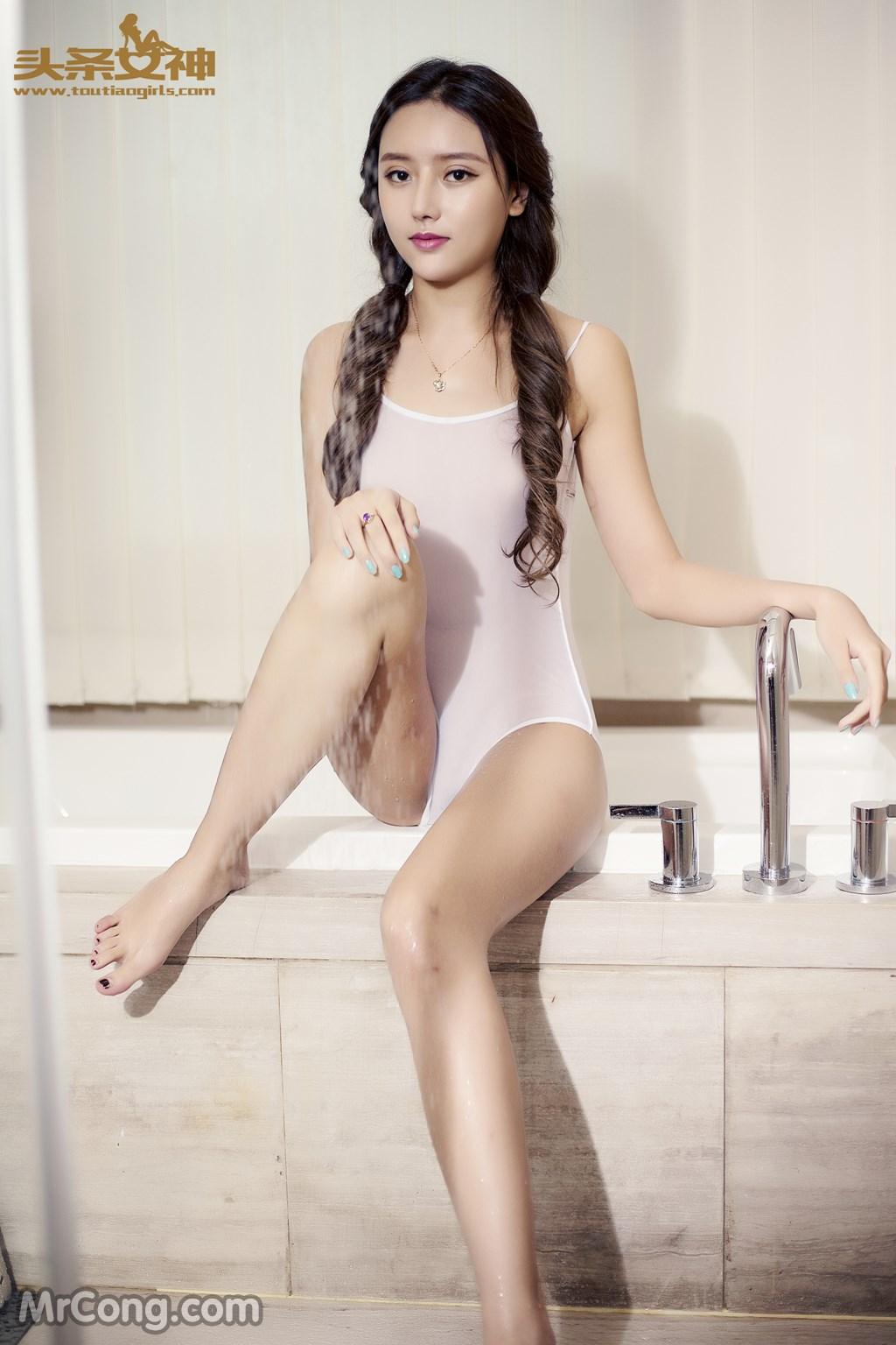 TouTiao 2016-07-11: Model A Tong Mu (阿童木) (30P)