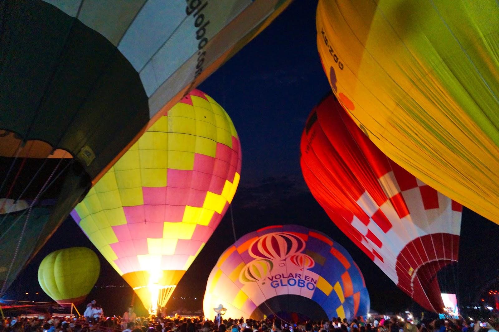 festival del globo en jardines de mexico