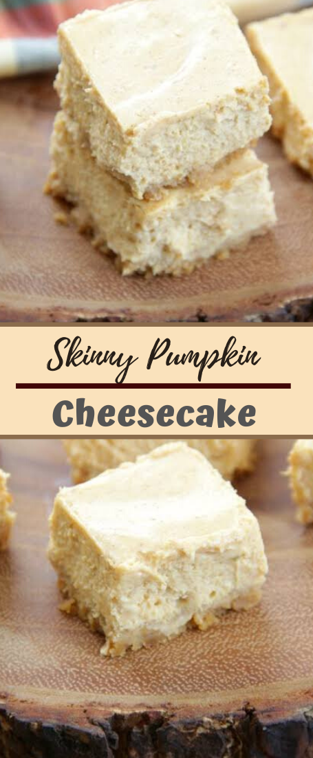 Skinny Pumpkin Cheesecake #desserts #cakerecipe #chocolate #fingerfood #easy