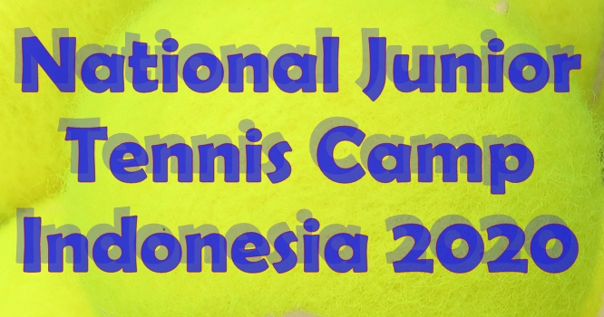 National Junior Tennis Camp - Indonesia 2020