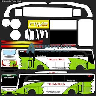 Livery bus shantika jbhd 2