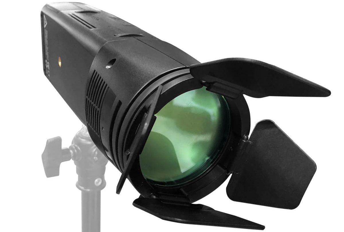 Модификатор с держателем для цветных гелей со шторками для новой головы Godox AD200