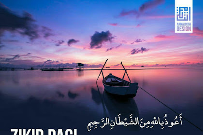 Dzikir pagi petang - Edisi Poster Share